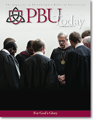 PBU Today Summer 2011 Cover