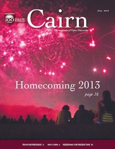 Cairn Magazine Fall 2013 Cover