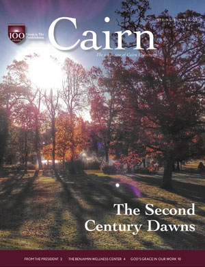 Cairn Magazine cover - Summer 2014