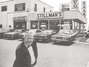 Ed's grandfather outside the expanded business in early 70s